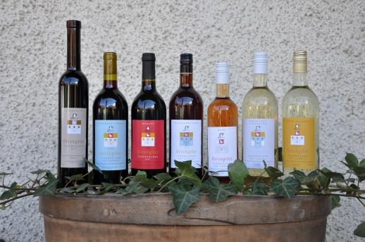Weinflaschen 2015